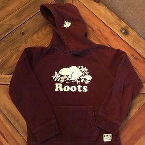 🇨🇦 Roots hooded sweatshirt size 9/10